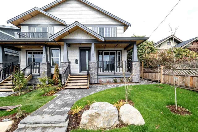 328 E 9TH STREET - Central Lonsdale 1/2 Duplex for sale, 4 Bedrooms (R2154232) #1