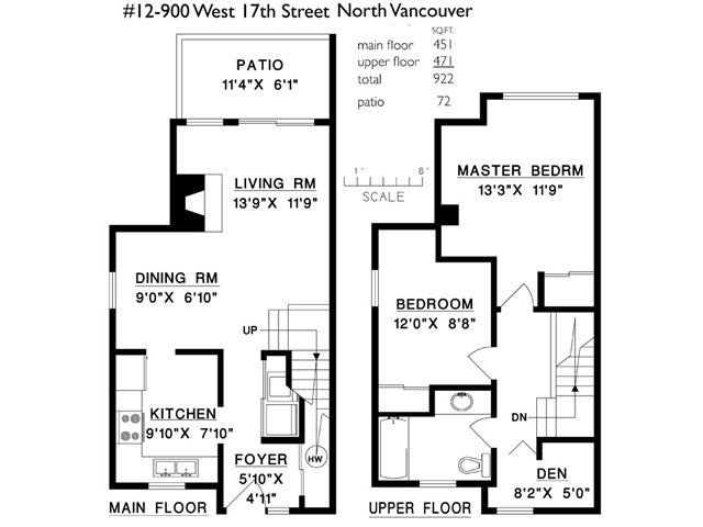 # 12 900 W 17TH ST - Hamilton Townhouse for sale, 2 Bedrooms (V965588) #10